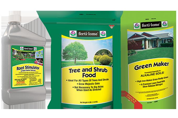 Bruce Miller Nursery fertilizers